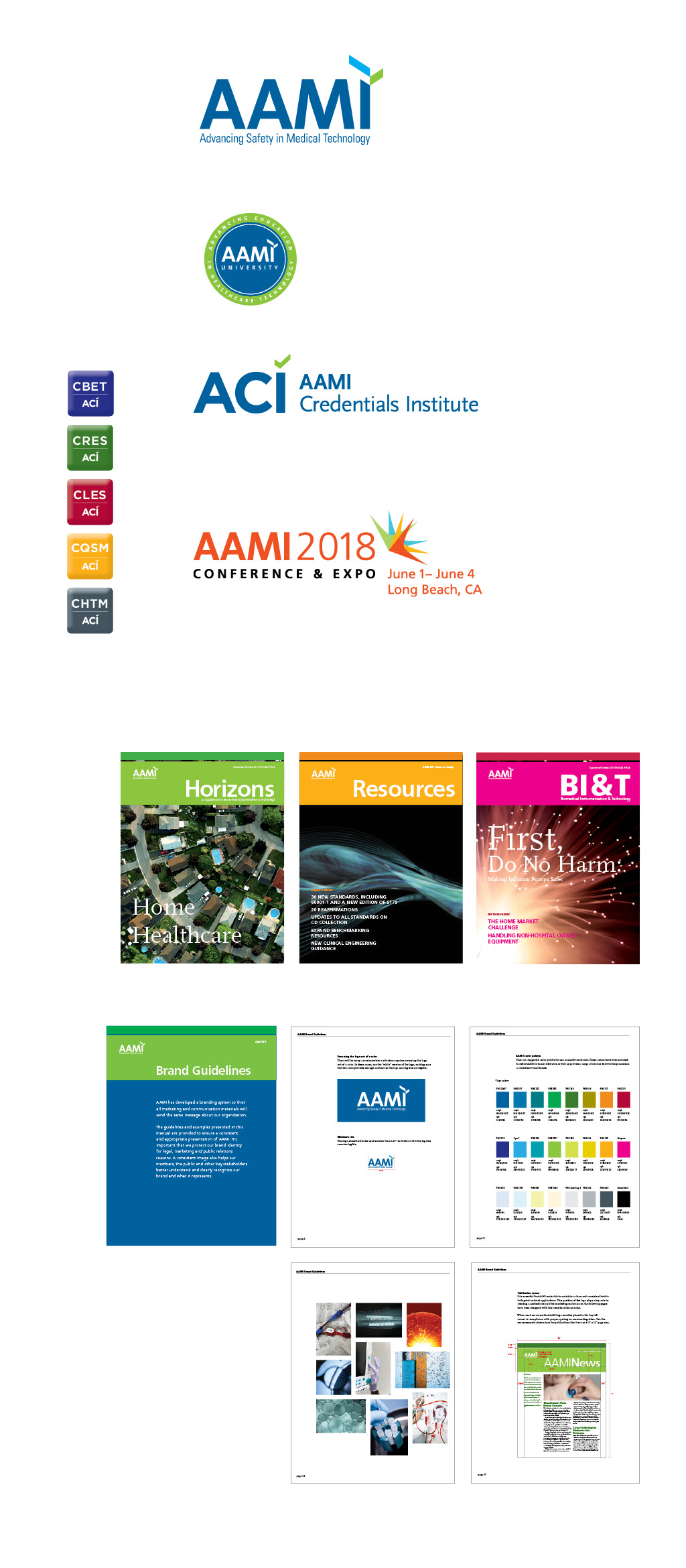 AAMI: Medical Technology Association Branding