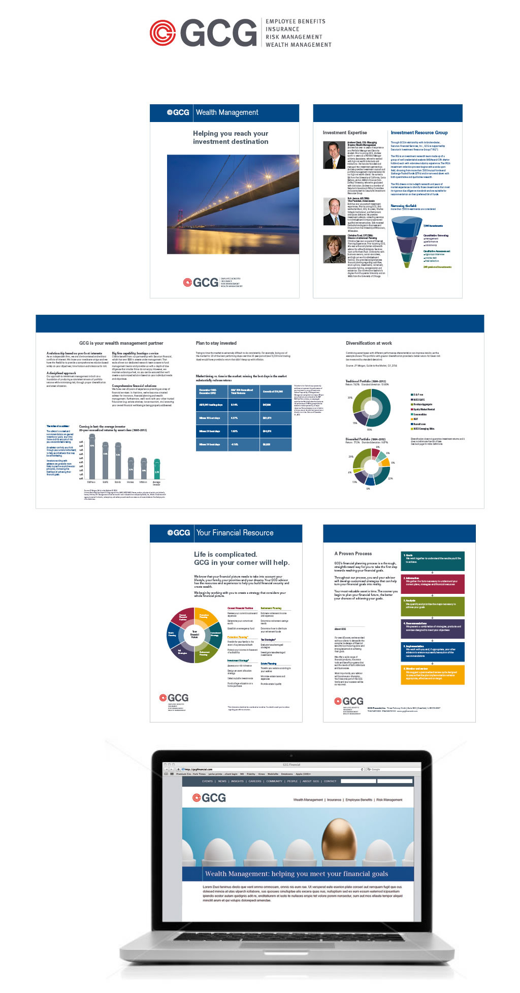 GCG Financial: Financial Branding and Marketing